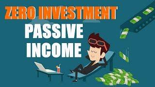 बिना पैसे बिजनेस कैसे शुरू करे : How to have passive income: Hindi