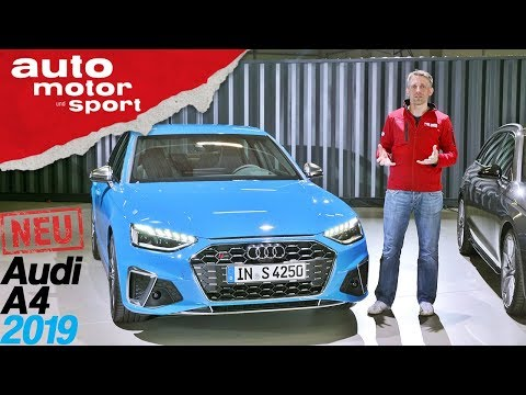 Audi A4 (2019): Alles, was du über das Facelift wissen musst - Review/Sitzprobe   auto motor & sport