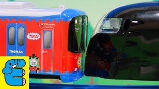 プラレール最強電車 16列車中いちばん強いのはだれだ? Plarail