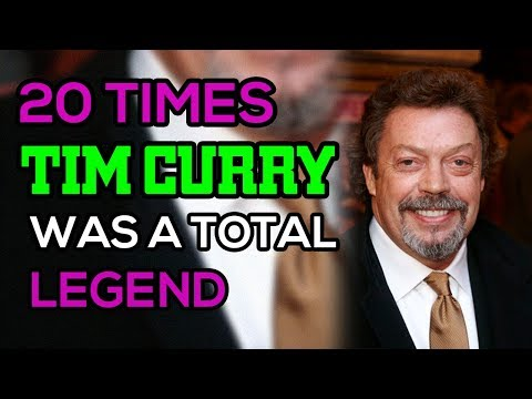 20 Times Tim Curry Was A Total Legend