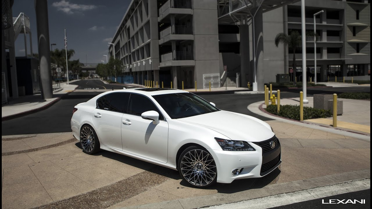 Lexus GS 350 On 20 CSS 16 Lexani Wheels YouTube