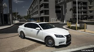 "Lexus GS 350 on 20"" CSS 16 Lexani Wheels"