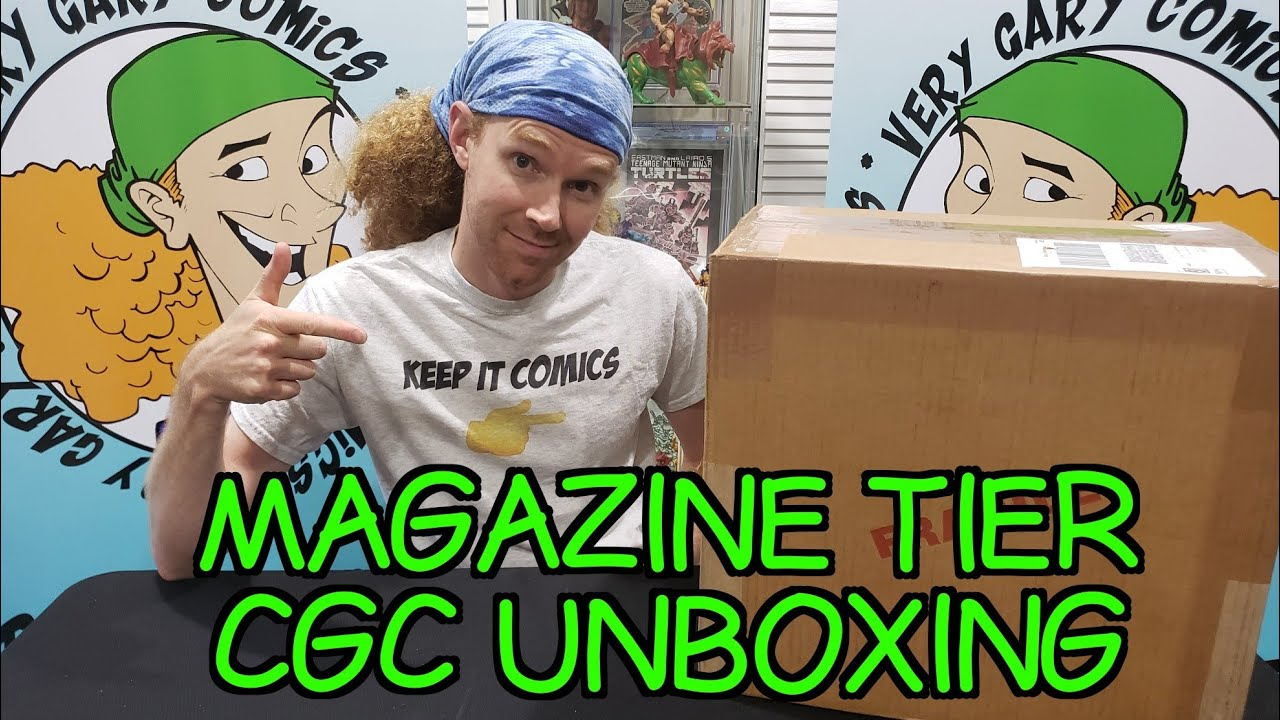 CGC Unboxing - Modern Magazine Tier - Batman and Guardians of the Galaxy