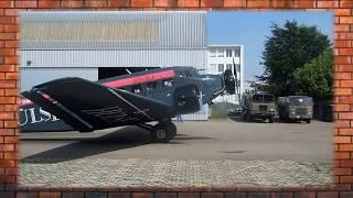 Авиакатастрофа в Швейцарии. Крушение самолета Junkers JU-52 в Альпах.