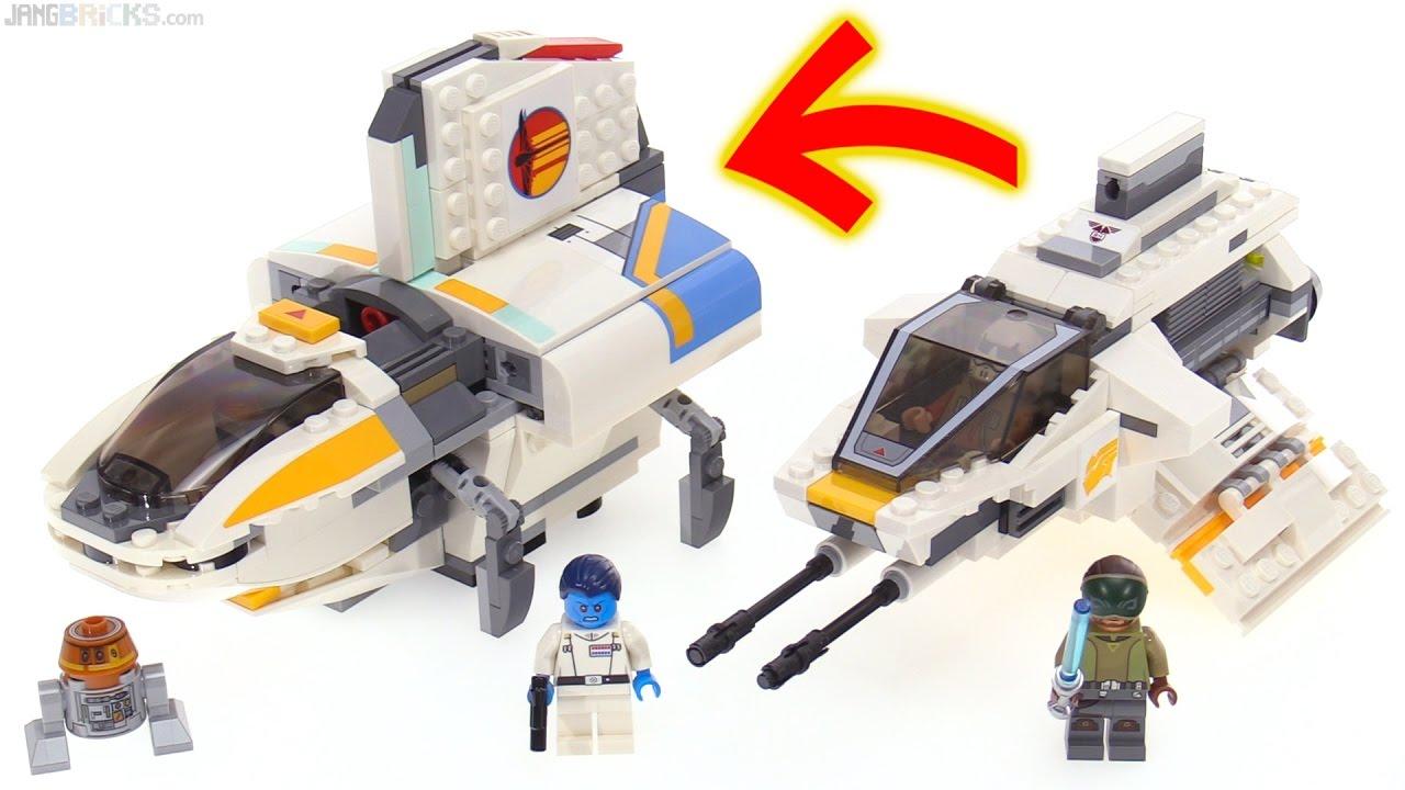 LEGO Star Wars Rebels: The Phantom (II) review! 75170 ...