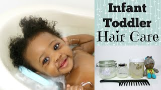 Baby Natural Hair Care | How to care for Baby Hair | Linda Barry
