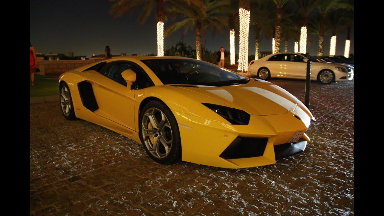 Supercars In Dubai Aventadors Golden Panamera Speciale