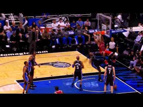 Joakim Noah Dunks On Big Baby (Stacey King call)