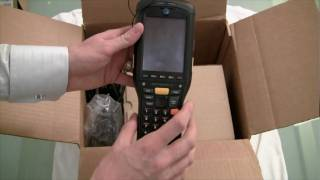 Inspection Device Unboxing   Motorola 9500 and Inspection Software