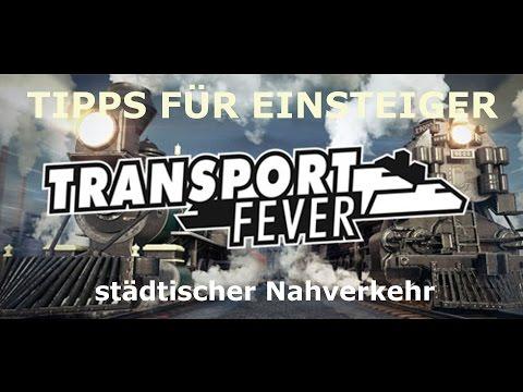 TRANSPORT FEVER TIPPS FÜR EINSTEIGER | Nahverkehr in der Stadt