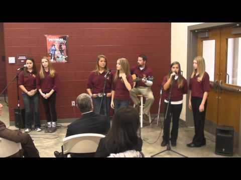 Bruceton School celebrates VH1 grant 10-24-14