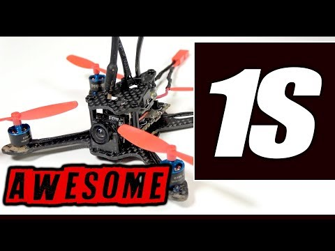 1S BRUSHLESS POWER! - Aurora RC A100 with OSD REVIEW
