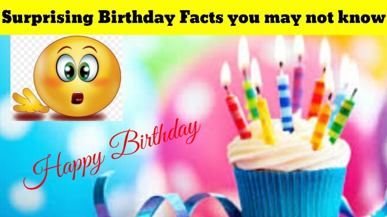 Surprising Birthday facts in Hindi || Birthday facts you may not know