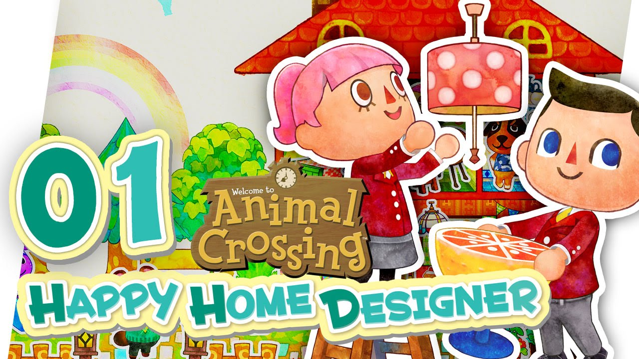 ANIMAL CROSSING: HAPPY HOME DESIGNER - 01 - Let's Play [Deutsch] - YouTube