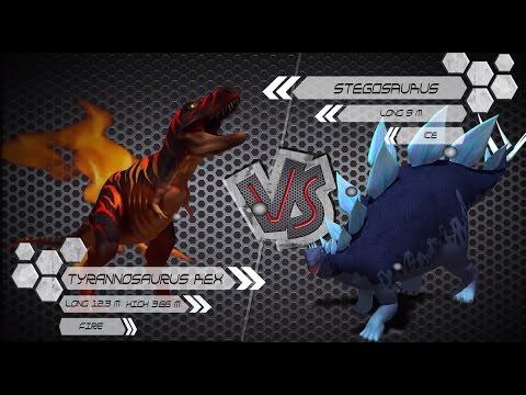 T-Rex VS Stegosaurus Dinosaurs Colosseum Battle letöltés