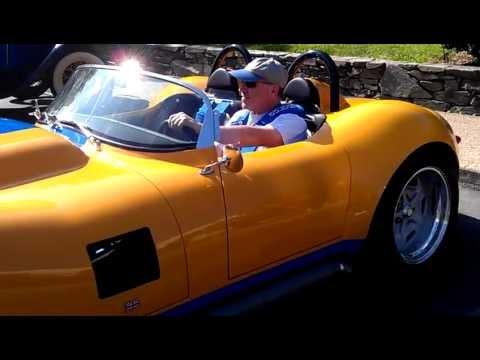 Lister Jaguar Replica. Lister replica at Oran Park, Sydney. | Car ...
