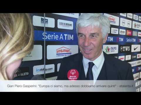"""Gian Piero Gasperini: """"Europa ci siamo, ma adesso dobbiamo arrivare quinti"""""""
