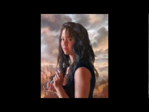 "Arsen Kurbanov  pintor ruso MIRADAS -LOLE Y MANUEL ""Tu mirá"""