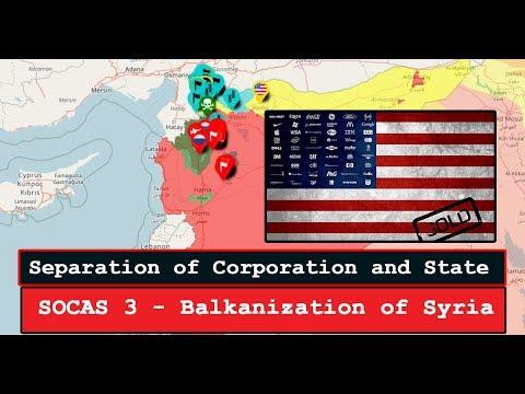 Balkanization of Syria - SOCAS3