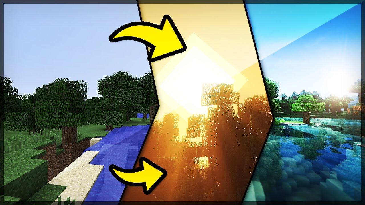 o melhor shaders do minecraft bsl youtube