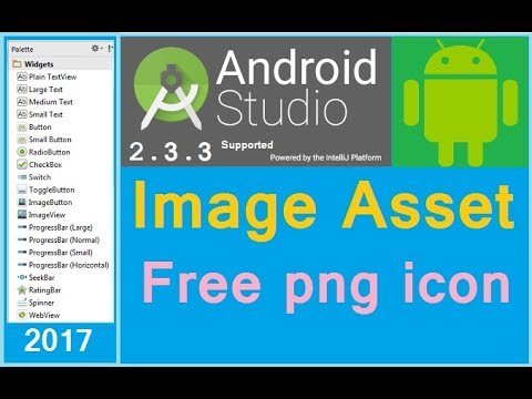 Android Free Icons For Developers. Android Icons Material Design. Android Studio 2.2.1 Tutorial.
