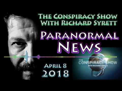Paranormal News Roundup with Rosemary Ellen Guiley | The Consipracy Show (April 8, 2018)