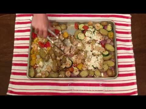 Lucy's Greek Shrimp Bake - Quick Time Original Recipe