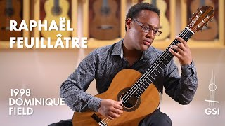 """Barrios' """"La Catedral: I. Preludio Saudade"""" played by Raphaël Feuillâtre on a 1998 Dominique Field"""