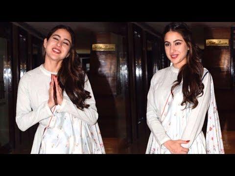 Sara Ali Khan SUPER SWEET Gesture Towards Media