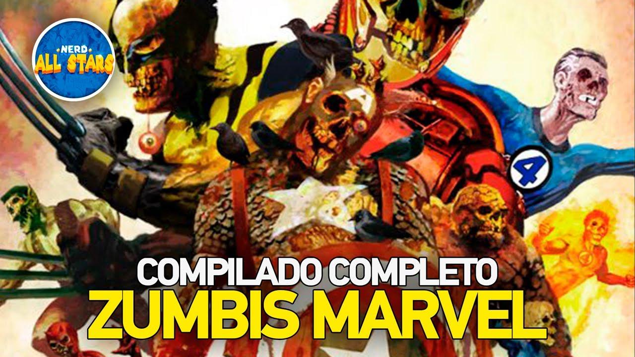ZUMBIS MARVEL | Compilado História Completa