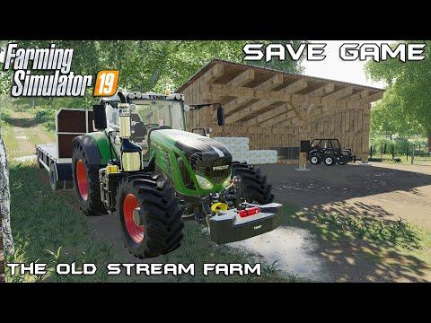 Save Game v2 | The Old Stream Farm | Farming Simulator 19 |