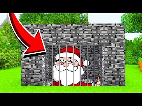 Minecraft : We Trapped SANTA CLAUS!(Ps3/Xbox360/PS4/XboxOne/PE/MCPE)