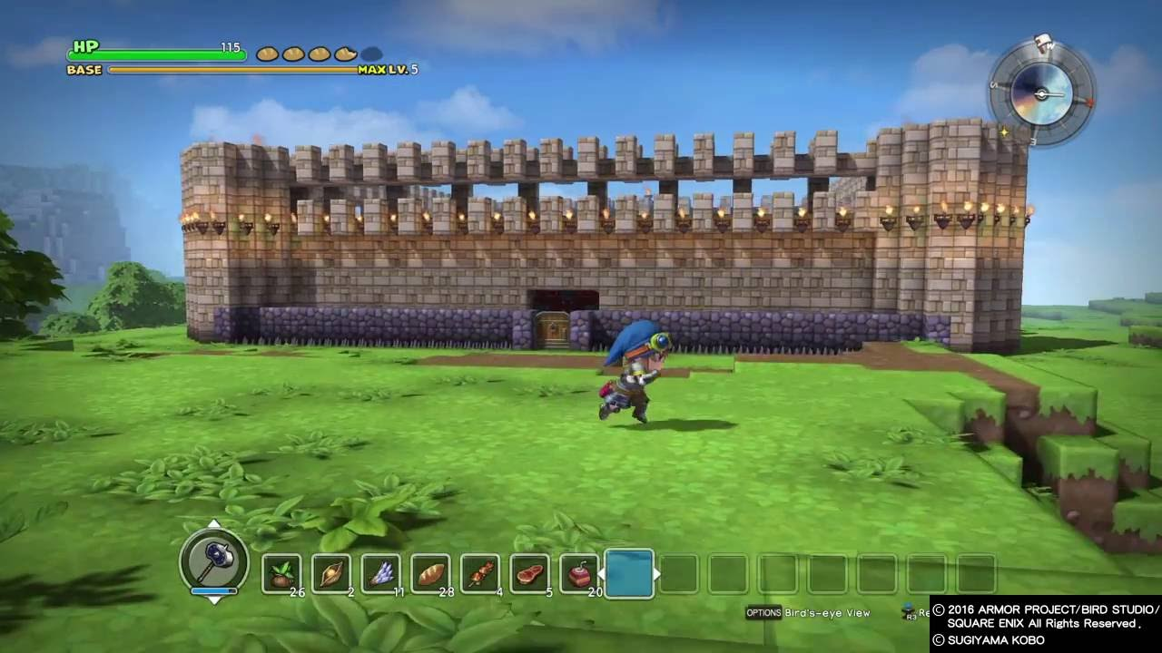 Dragon Quest Builders Story Mode Base Creation Youtube