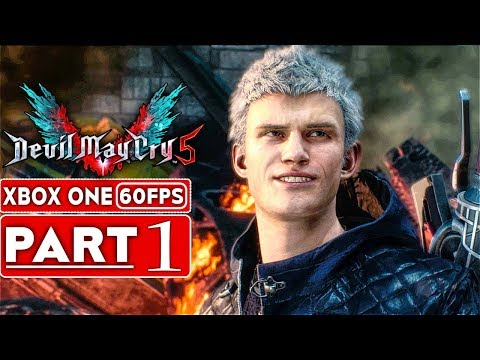 DEVIL MAY CRY 5 Gameplay Walkthrough Part 1 FULL DEMO [1080p HD 60FPS Xbox One X] - No Commentary