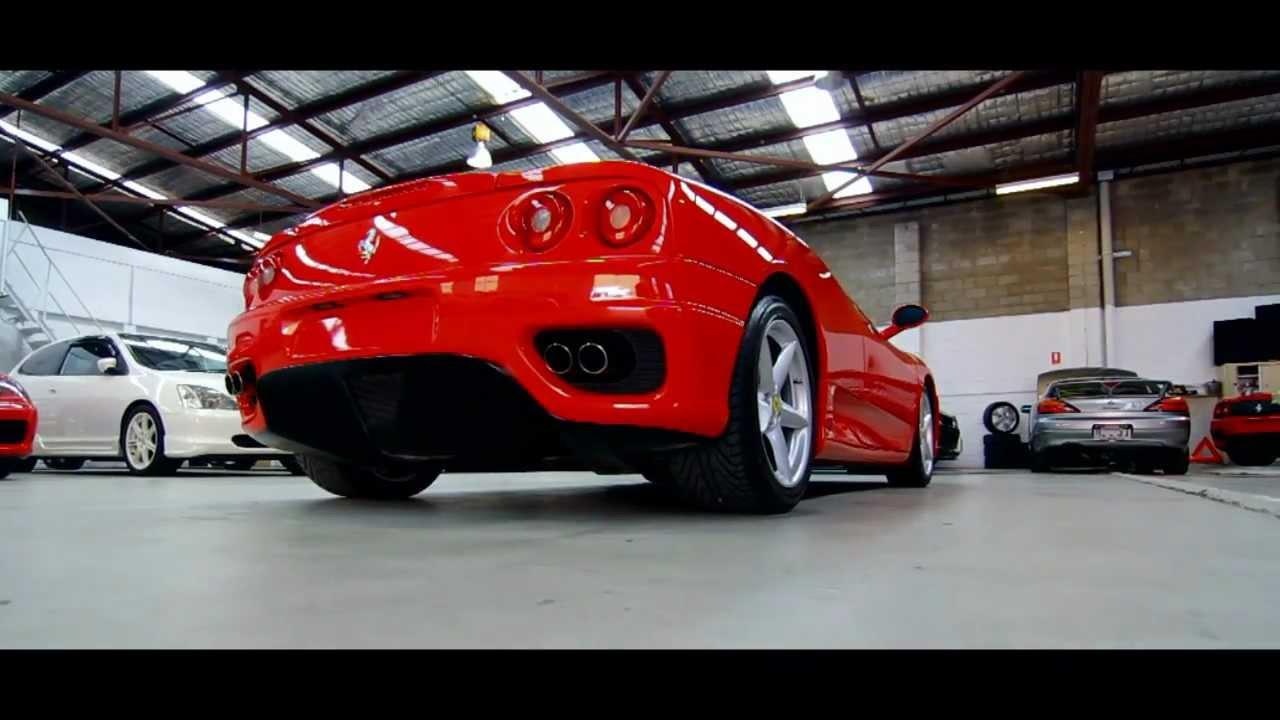 Ferrari 360 Modena F1 Red Raws Compliance Uk Import Top Secret Imports Australia Sydney For Sale