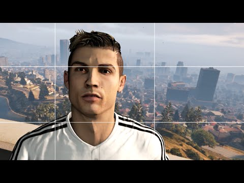 VIDEO – Cristiano Ronaldo protagonista in GTA V