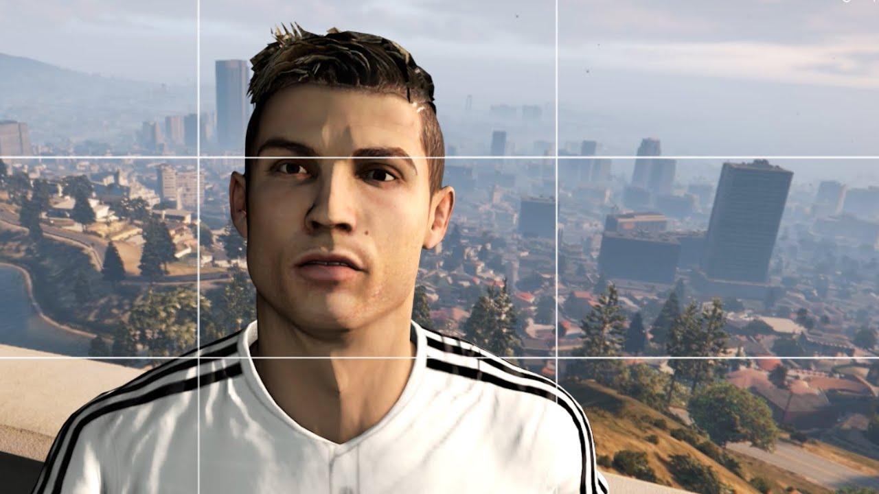 Así sería Cristiano Ronaldo en el GTA V