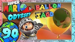SUPER MARIO ODYSSEY Part 90: Mit Ritterrüstung Ballon-Jagd im Wüstenland & Bowserland