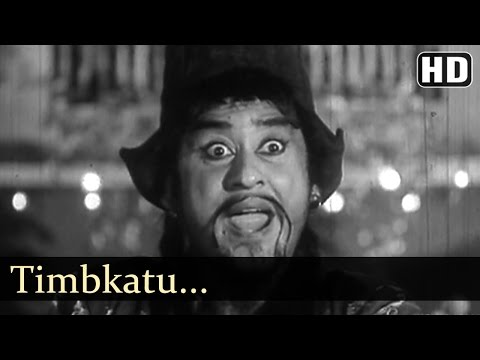 Timbkatu - Kishore Kumar  - Jhumroo Songs - Madhubala - Fun Song - Filmigaane