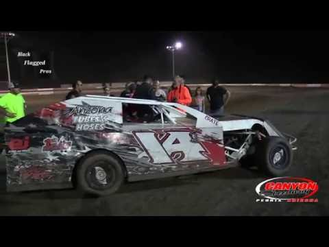 IMCA Modified Main At Canyon Speedway Park September 4th 2016