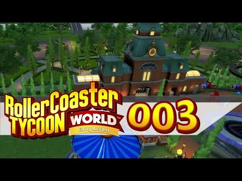 Nachtarbeiten | Let's Play Rollercoaster Tycoon World #003 | PC HD 60FPS |