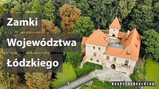 🏰🏰🏰 Zamki Województwa Łódzkiego