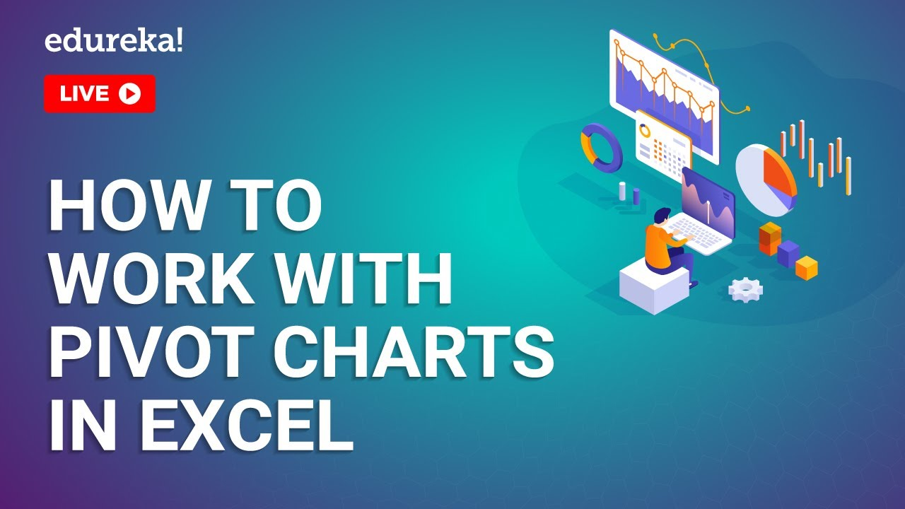 How to work with Pivot charts in Excel | Pivot Table Excel | Excel Training