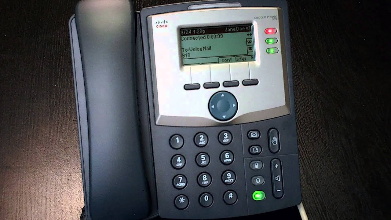 How To: Check Voicemail (Cisco IP Phone)