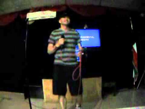 """Tony Williams singing """" Keep Your Hands to Yourself"""" for Karaoke"""