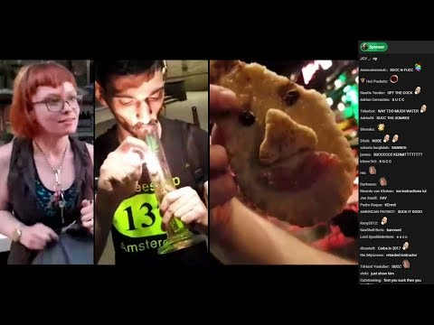 Ice Poseidon meets Homeless Feminist + Amsterdam Nightlife (VOD with chat) [07/05/2017]