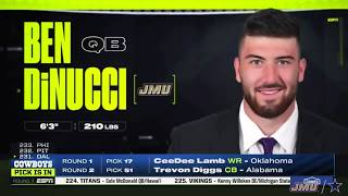 Videos courtesy of jmu sportsdrafted in the 2020 nfl draft to dallas cowboyssenior year stats:started all 16 games at quarterback… afca first team all...
