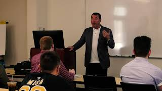 Attorney Jason Abraham Speaks to Students at Wisconsin Lutheran College