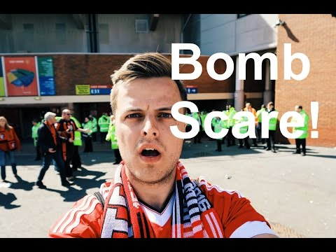 BOMB SCARE at Old Trafford - Manchester United Game - Vlog 006