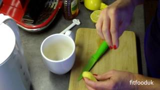 Honey Lemon And Ginger Tea- Great For Colds And Warming Up